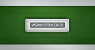 My World of Golf! by Jacqueline